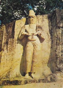 Statue of Parakrama Bahu , Sri Lanka , 50-70s