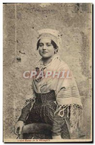 Old Postcard Folklore Bresse Brionnaise