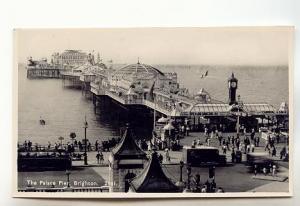 Real Photo, Palace Pier, Brighton, England, Used 1946