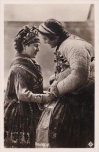 Hungary Budapest Romantic Couple Peasants From Sarkoz Real Photo