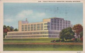 Wisconsin Madison Forest Products Laboratory 1943 Curteich