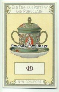 su2012 - Old English Pottery & Porcelain - Coalport - postcard Chairman Cigs