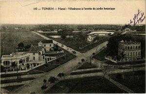 VIETNAM INDOCHINE - Tonkin - Hanoi - Vélodrome a l'entrée du jardin (190210)