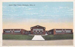 CHICKASHA , Oklahoma , 1910s-30s ; Junior High School