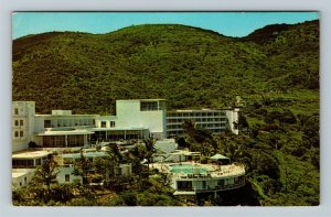 Virgin Island Hilton Hotel c1966 Chrome Postcard