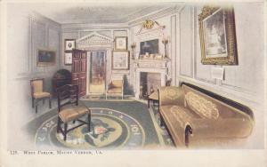 West Parlor at Mount Vernon VA, Virginia - UDB