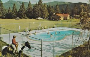 SEEBE, Alberta, Canada, 50-60s ; Rafter Six Guest Ranch