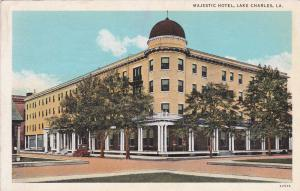 LAKE CHARLES, Louisiana, PU-1935 ; Majetic Hotel