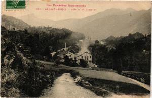 CPA  Les Pyrénées-Agriégeoises- Ax-les-Thermes - L'Usine du Castelet  (350966)
