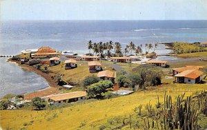 Martinique Post card Old Vintage Antique Postcard Cap Est Hotel, General View...