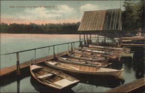 Bridgeton NJ City Park Boat Pavilion c1910 Postcard