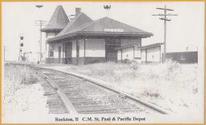 Rockton, ILL., C. M. St. Paul & Pacific (fake?)