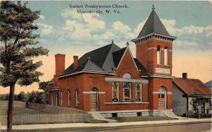 F23 Moundsville West Virginia Postcard 1924 United Presbyterian Church 8