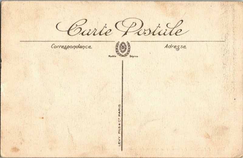 Antique Postcard - 780 Paris L'Opera et la Station de Métropolitain - Levy Fils
