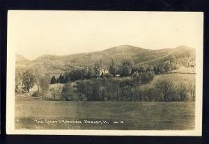 Dorset, Vermont/VT Photo Postcard, The Giants Armchair