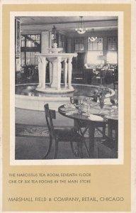 CHICAGO, Illinois , 1930s ; Marshall Field Company , Narcissus Tea Room
