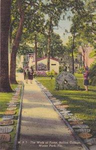 WINTER PARK , Florida , 30-40s ; Walk of Fame, Rollins College