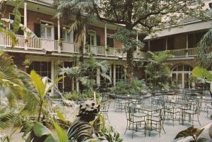 Louisiana New Orleans Brennan's French Restaurant Patio 417 Royal Street