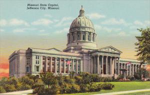 NMissouri Jefferson City State Capitol Building Curteich