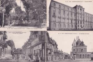 Paris Plage Atlantic Hotel Rue De Londres Post Office 4x Postcard s