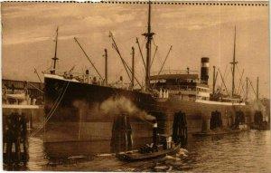 CPA AK Steamer Tasmania - Austral-Hafen - Hamburg SHIPS (911953)
