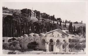 Jordan Jerusalem Church Of Gethsemane Real Photo