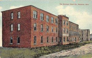 F53/ Ravenna Ohio Postcard c1910 The Buckeye Chair Company Factory