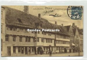 denmark, AALBORG ÅLBORG, Lybaekkergaard (1908) Stamps