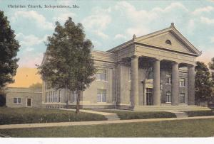 INDEPENDENCE, Missouri, 1900-1910's; Christian Church