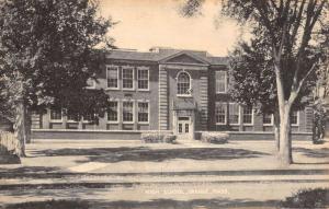 Orange Massachusetts High School Street View Antique Postcard K41814