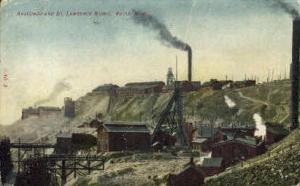 Anaconda and St. Lawrence Mines Butte MT 1907