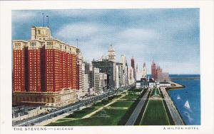 Illinois Chicago The Stevens A Hilton Hotel