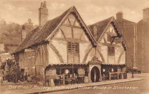 England Old Chesil Rectory (built 1450) Oldest House in Winchester, Antiques
