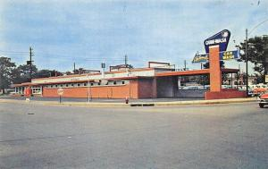 Nashville TN Automatic Quick-Wash Old Cars Postcard