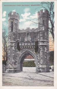 Manningham Park Gateway, BRADFORD, Yorkshire, England, United Kingdom, 10-20s