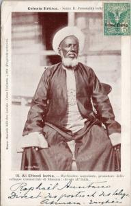 Ali Effendi lechia Colonia Eritrea Africa Kingdom of Italy Postcard E37 *As Is
