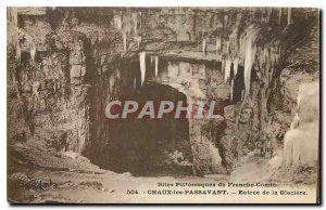 Old Postcard Chaux the Passavant Entree of Icebox