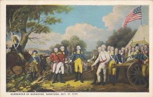 Surrender Of Burgoyne Saratoga Oct 17, 1777 Painting By John Trumbull