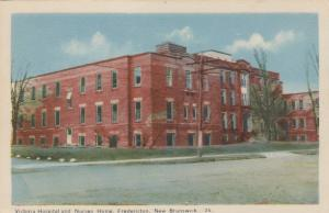 FREDERICTON, New Brunswick, Canada; 30-40s; Victoria Hospital and Nurses Home