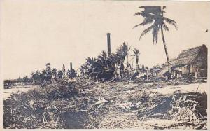 Typhoon damage scene , Guam , 00-10s