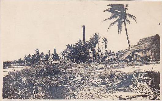 Typhoon damage scene , Guam , 00-10s