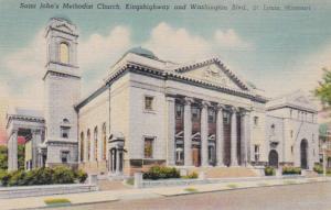 Missouri St Louis Saint John's Methodist Church