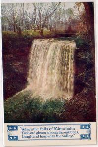 Minnehaha Falls, Minneapolis Minn