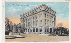 MONTGOMERY, Alabama, 1910s; Masonic Temple