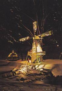 Simcoe's Christmas Panorama , Ontario , Canada 60-80s #1 windmill