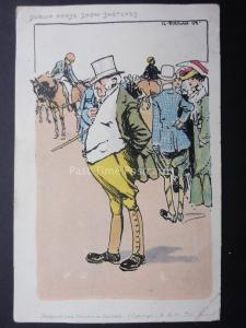 Dublin Horse Show Sketches - Art by G. Fagan c1903 by B.& N. Ltd of Dublin