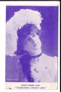 Evelyn Nesbit Thaw, Actress, Model, Used from Goderich to Clinton Ontario 1907