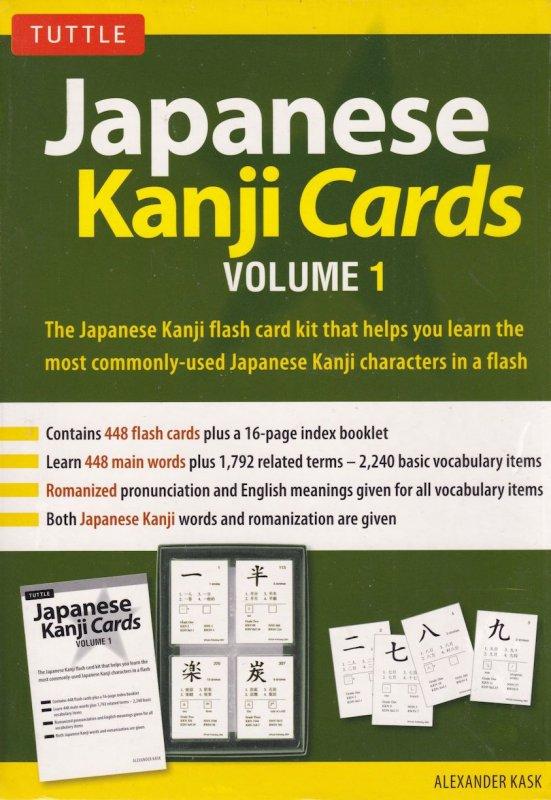 Japanese Learn Kanji Flashcards Cards Volume 1 Tuttle New Sealed