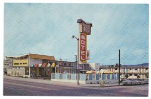 Imperial 400 Motel Salt Lake City UT Postcard