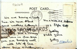 Genealogy Postcard - Holden - Heald Green - Gatley - Cheshire - Ref 9614A